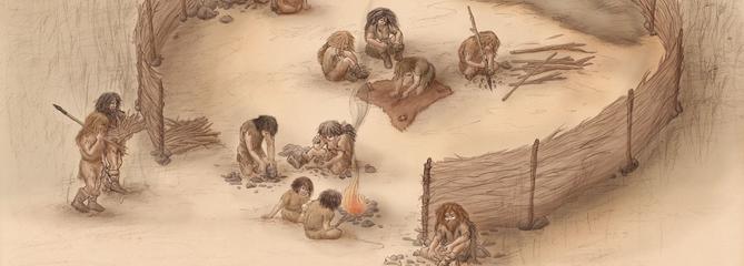 Le briquet de Néandertal
