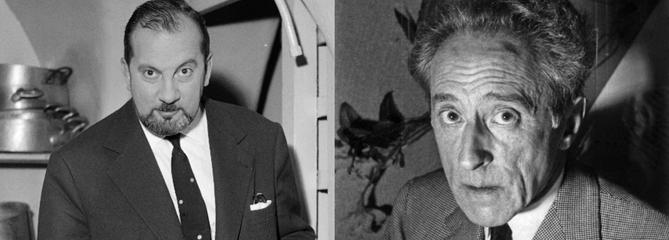Jean Cocteau et Raymond Oliver : une amitié profonde et sincère
