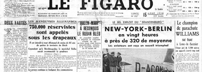 15 août 1938 : le Normandie battu par le Queen Mary dans la course au «Ruban bleu»