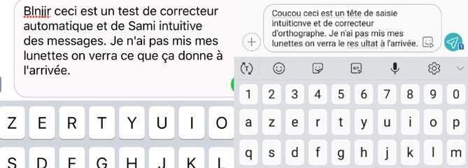 L'écriture intuitive sur smartphone a-t-elle de l'humour ?