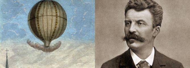 Le voyage en ballon de Maupassant : «Rien n'est plus amusant, plus délicat et plus passionnant»