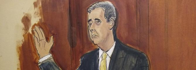 Donald Trump incriminé par son ancien avocat