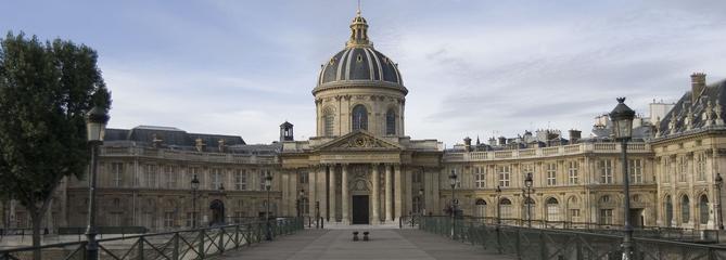 Journées du patrimoine: visite exceptionnelle de l'Institut de France