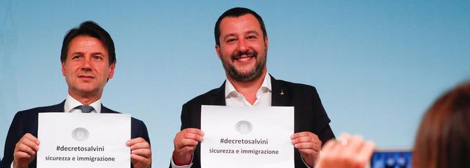 L'Italie vote une nouvelle loi anti-migrants