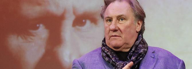 Pour Gérard Depardieu, «Emmanuel Macron est comme Vladimir Poutine»