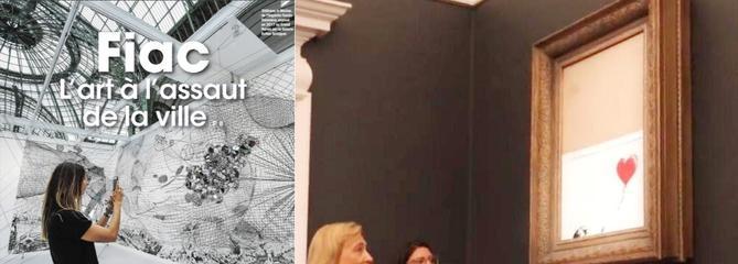 Fiac lux: l'art contemporain à l'assaut de Paris!