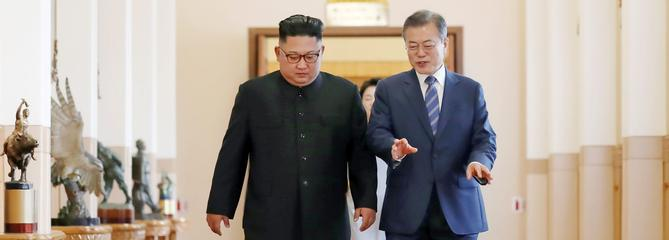 Le président sud-coréen Moon au Figaro : «Kim Jong-un est sincère»