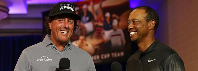 19,99 dollars : le prix pour regarder «The Match» entre Woods et Mickelson à la télé
