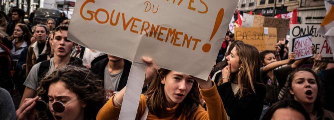 Éducation : 10% d'enseignants en grève, selon le ministère