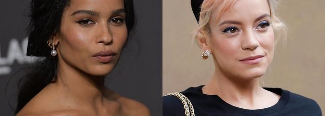 L'actrice Zoë Kravitz accuse Lily Allen de l'avoir embrassée de force