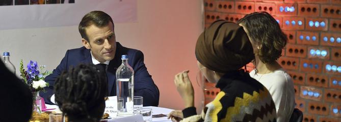 À Molenbeek, berceau des terroristes de 2015, Macron veut donner un «autre visage» de la commune
