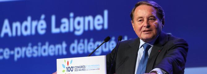 André Laignel, n°2 de l'AMF : «La réception des maires à l'Élysée est un meeting»