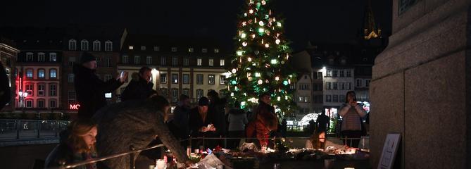 Strasbourg : un émouvant rassemblement pour les victimes