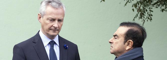 Renault: l'État français lâche Carlos Ghosn et cherche son successeur