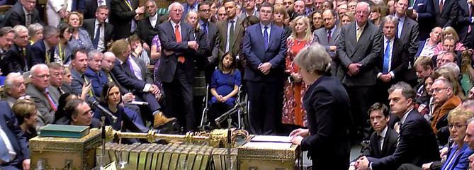 Brexit : l'inquiétude grandit à Bruxelles après le rejet de l'accord aux Communes