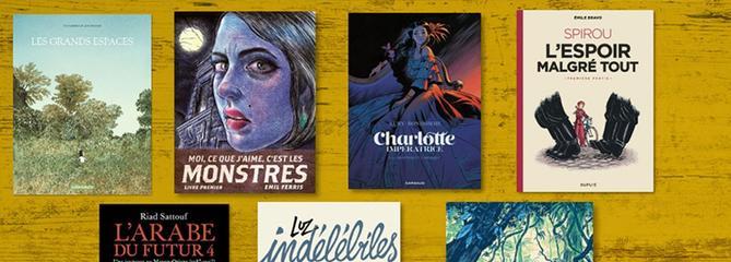 La Case BD spéciale Angoulême: nos coups de cœur en lice pour le Fauve d'or