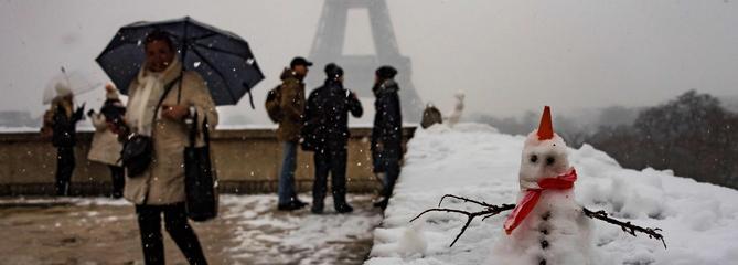 Neige : restrictions de circulation dans le Nord et l'ÎIe-de-France