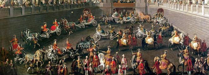Vienne: le 2 janvier 1743, le quadrille équestre de Marie-Thérèse