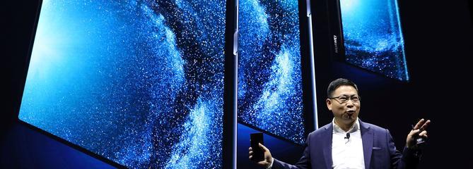 Après Samsung, Huawei annonce un téléphone pliable à 2299 euros