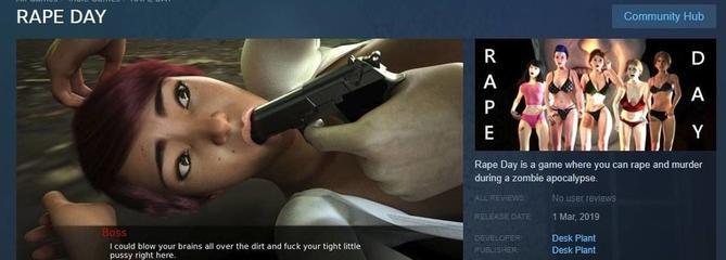 Tempête autour du jeu vidéo dans lequel on incarne un violeur