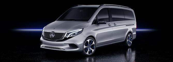 Mercedes Concept EQV, le van converti à l'électricité