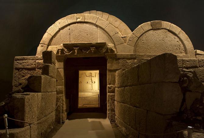 Le tombeau de Ginina Mogila (IVe-IIIe s. av. J.-C.) classé au patrimoine de l'UNESCO
