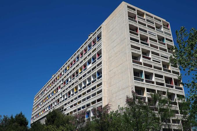 La «Cité radieuse», à Marseille.