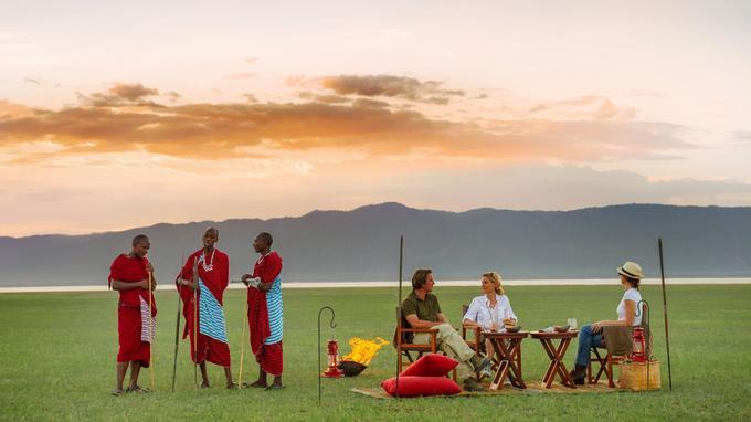 Plaine magique avec vue sur toute la valée du Grand Rift et le Ngorongoro.