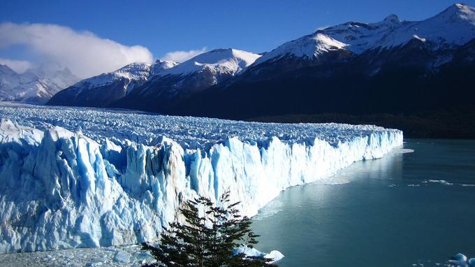 Façade sud du Perito Moreno. (Crédit: Matito/Flickr/CC)