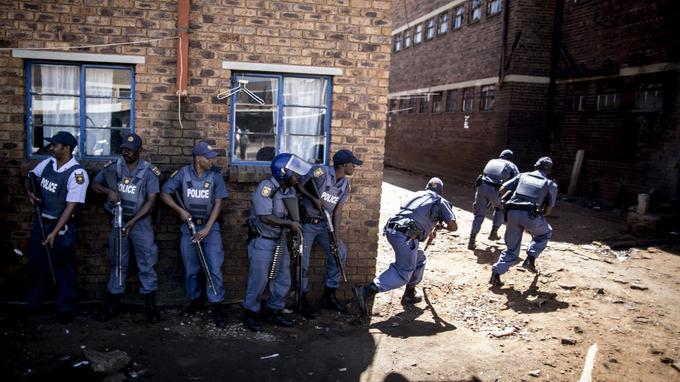Benoni, près de Johannesburg.