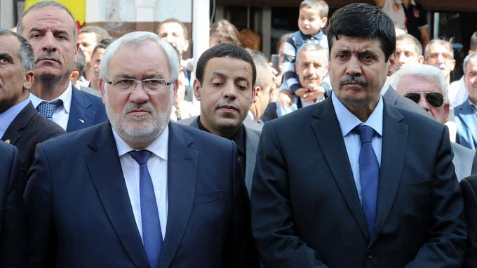 Le secrétaire d'État frnaçais a participé à l'hommage au côté de son homologue algérien, Tayeb Zitouni.
