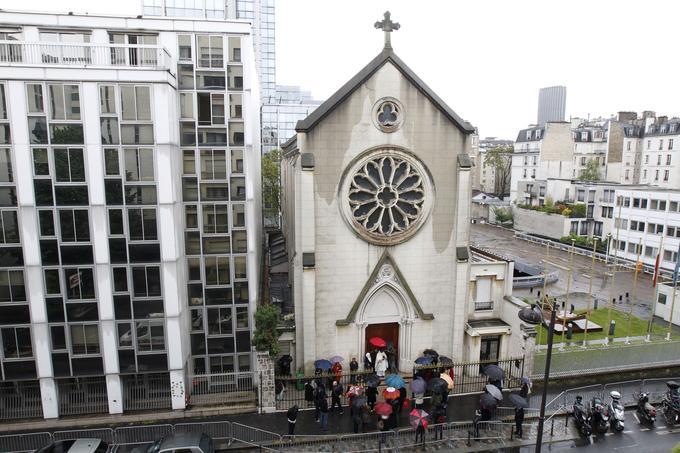 L'église Sainte-Rita;
