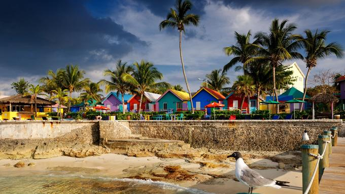L'hôtel Compass Point Resort, à Nassau.