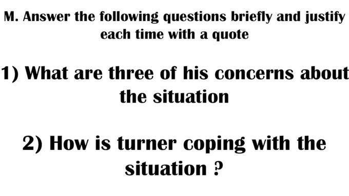 question bac anglais