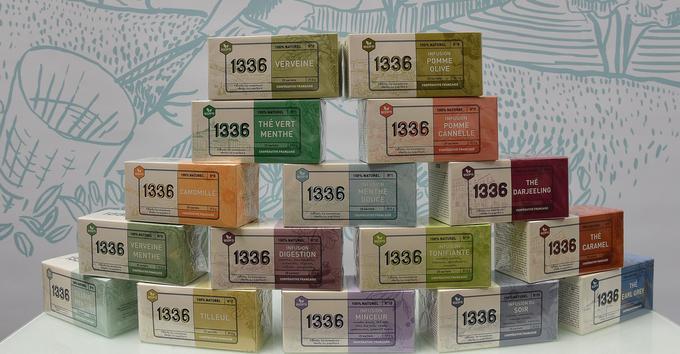 La gamme à marque propre «1336» est déclinée en 16 parfums.