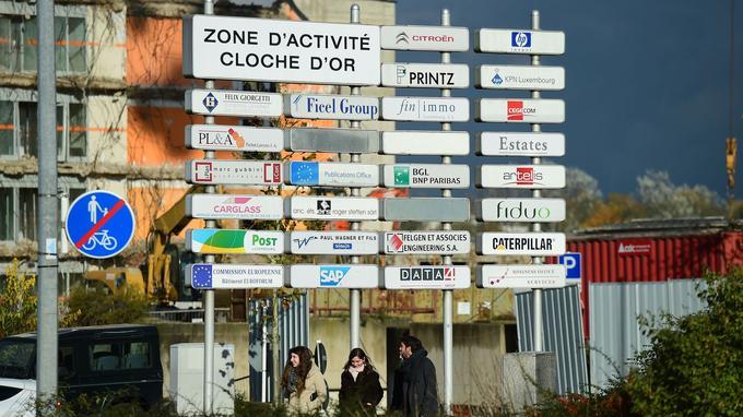 La zone d'activité de la Cloche d'or, coeur des multinationales au Luxembourg.