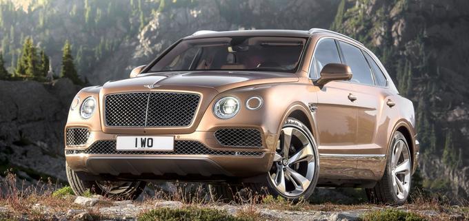 Le SUV Bentley Bentayga.