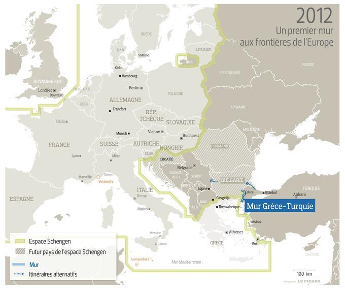 Carte De Leurope Avec La Hollande.Comment L Europe A Resserre Ses Frontieres Explique En 4 Cartes