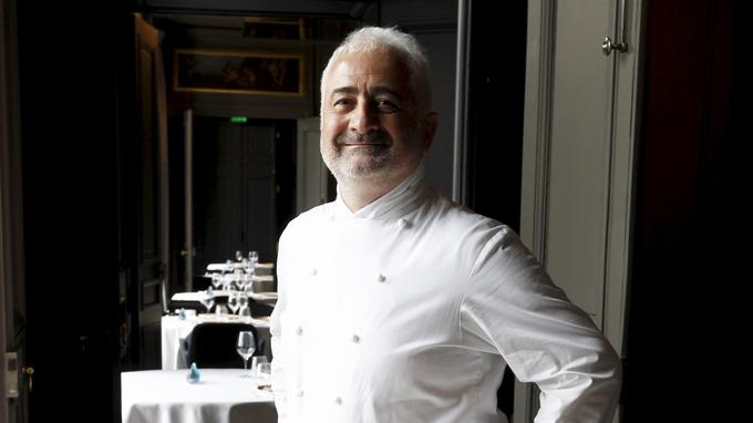 Guy Savoy, chef du restaurant Guy Savoy-Monnaie de Paris.