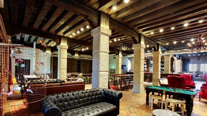 L'intérieur vintage du Generator Venice.