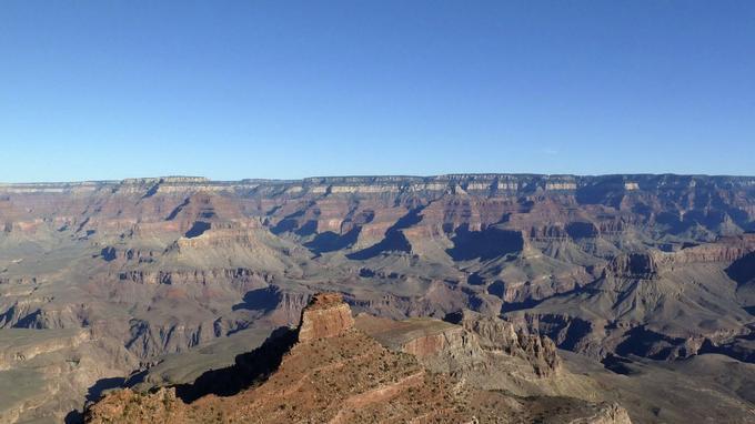 Vue époustouflante du Grand Canyon.