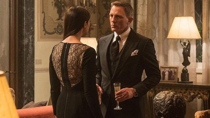 2af0c2058d Daniel Craig, en Tom Ford, et Monica Bellucci. (Sony Pictures Releasing GmbH
