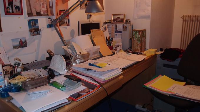 Photos de bureaux en bordel et degueulasses