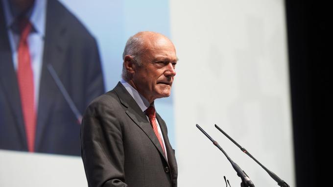 Alain Rousset, candidat du PS.