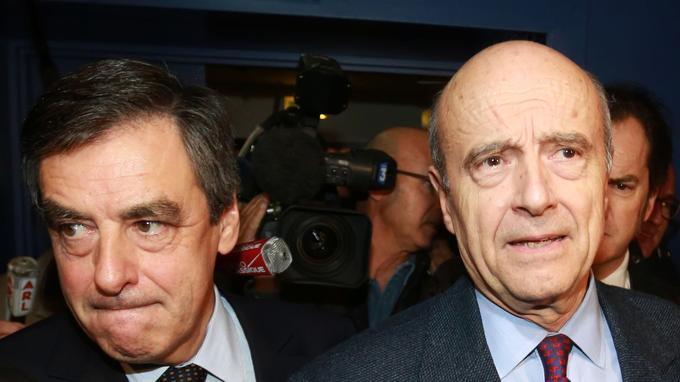 François Fillon et Alain Juppé, anciens premiers ministres