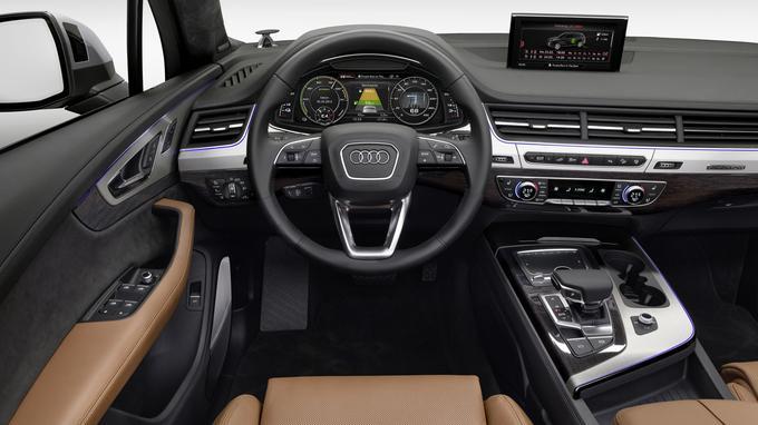 L'Audi Q7 3.0 e-tron sera commercialisée au mois de mars prochain.
