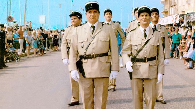 Le Gendarme de Saint-Tropez, 1964.