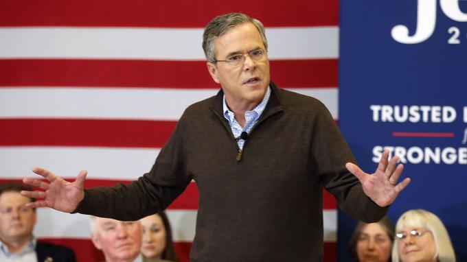 Le républicain Jeb Bush