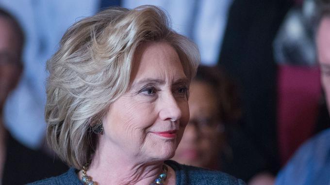 La candidate démocrate Hillary Clinton