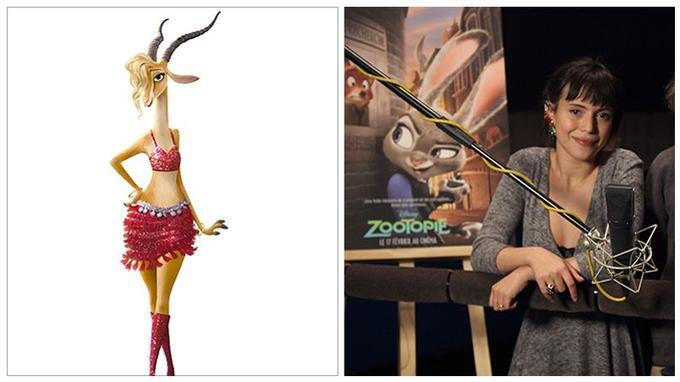 Lubna Gourion alias Gazelle: «Gazelle est très coquette. Je suis comme elle, j'adore le shopping et j'adore chanter .»